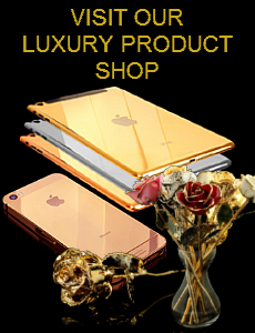 gold luxury products